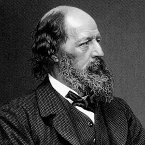 Photograph of Alfred Tennyson