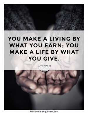 life-by-what-you-give