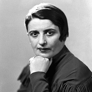 Photograph of Ayn Rand