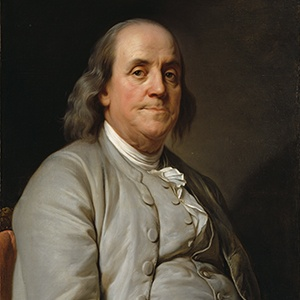 Photograph of Benjamin Franklin