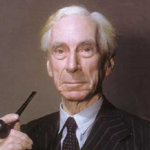 Photograph of Bertrand Russell