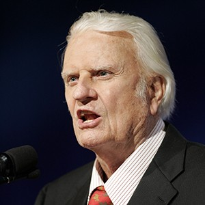 Photograph of Billy Graham