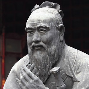 Photograph of Confucius
