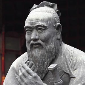 Photograph of Confucius