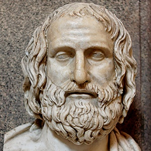 Photograph of Euripides