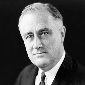 Photograph of Franklin D. Roosevelt