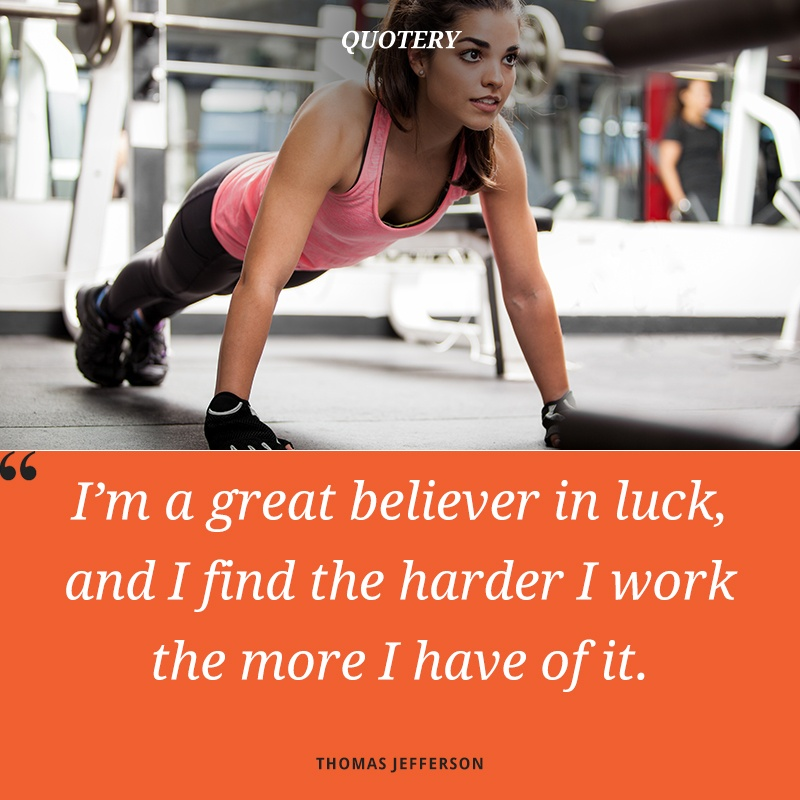 """I am a great believer in luck. The harder I work, the more of it I seem to have."" — Coleman Cox"