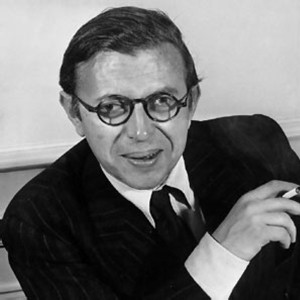 Photograph of Jean-Paul Sartre