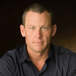 Photograph of Lance Armstrong