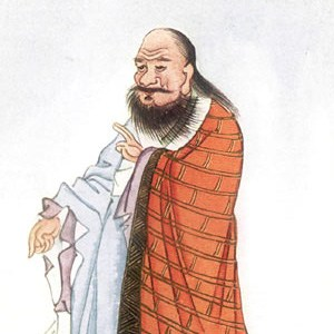 Photograph of Lao Tzu.