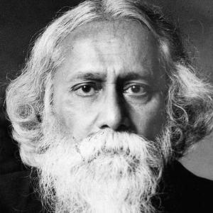 Photograph of Rabindranath Tagore