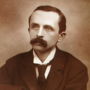 Photograph of Sir James Matthew Barrie