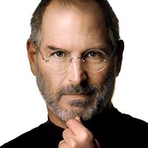 Photograph of Steve Jobs