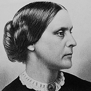 Photograph of Susan B. Anthony