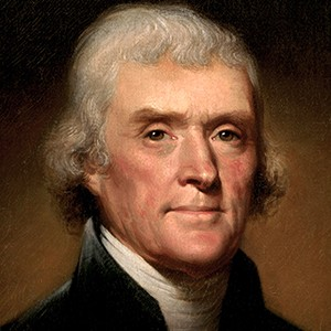 Photograph of Thomas Jefferson