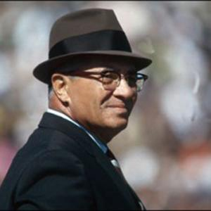 Photograph of Vince Lombardi