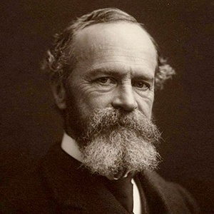 Photograph of William James