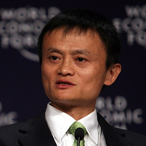 Photograph of Jack Ma.