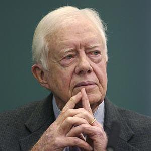 Photograph of Jimmy Carter.