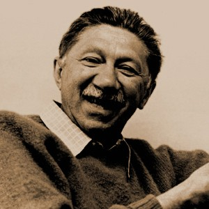 Photograph of Abraham Maslow.