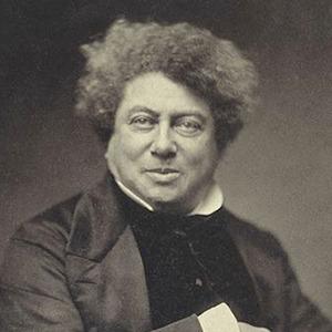 A photograph of Alexander Dumas.