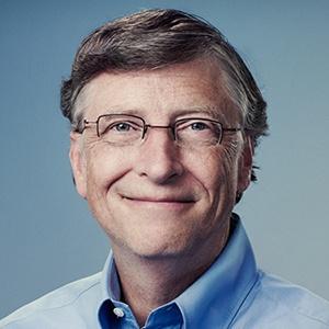 Photograph of Bill Gates.
