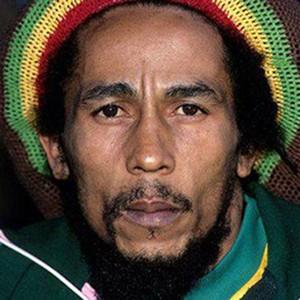 A photograph of Bob Marley.