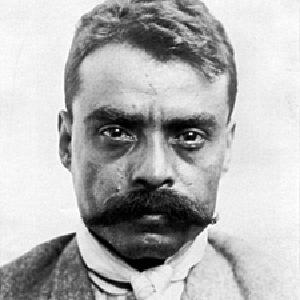 A photograph of Emiliano Zapata.