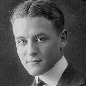 Photograph of F. Scott Fitzgerald.