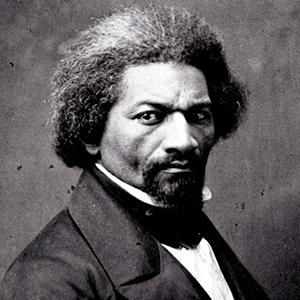 Photograph of Frederick Douglass.