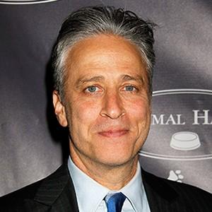 A photograph of Jon Stewart.