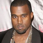 Photograph of Kanye West.