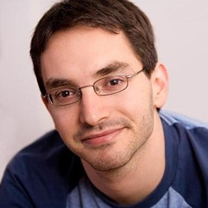 A photograph of Myq Kaplan.