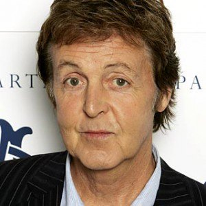 A photograph of Paul McCartney.