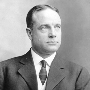 A photograph of Billy Sunday.