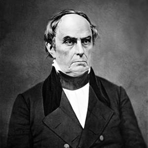 A photograph of Daniel Webster.