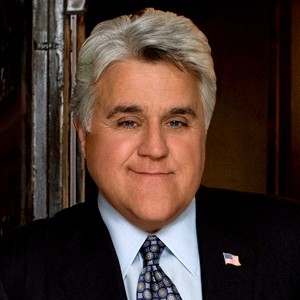 A photograph of Jay Leno.