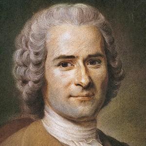 A photograph of Jean-Jacques Rousseau.