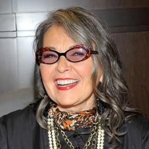 A photograph of Roseanne Barr.