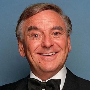 A photograph of Bob Monkhouse.