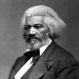 A photograph of Fredrick Douglass.
