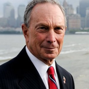 A photograph of Michael Bloomberg.