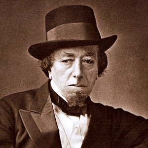 A photograph of Benjamin Disraeli (Earl of Beaconsfield).