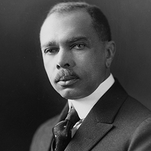 A photograph of James Weldon Johnson.