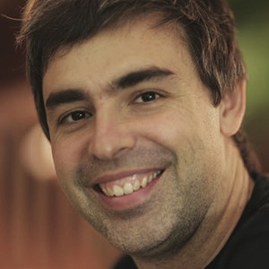A photograph of Larry Page.