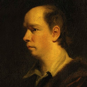 A photograph of Oliver Goldsmith.