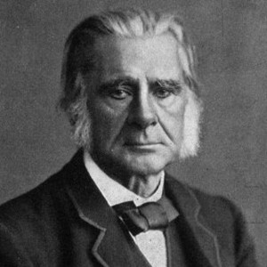 A photograph of T. H. Huxley.