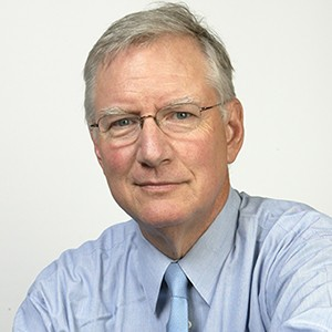 A photograph of Tom Peters.
