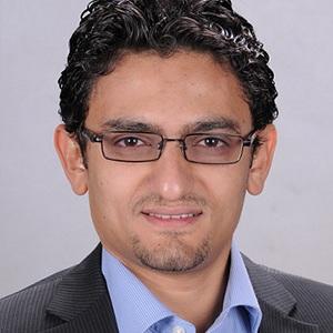 A photograph of Wael Ghonim.