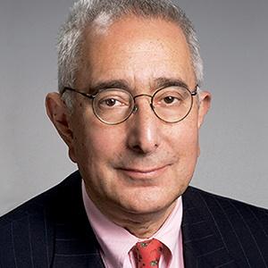A photograph of Ben Stein.
